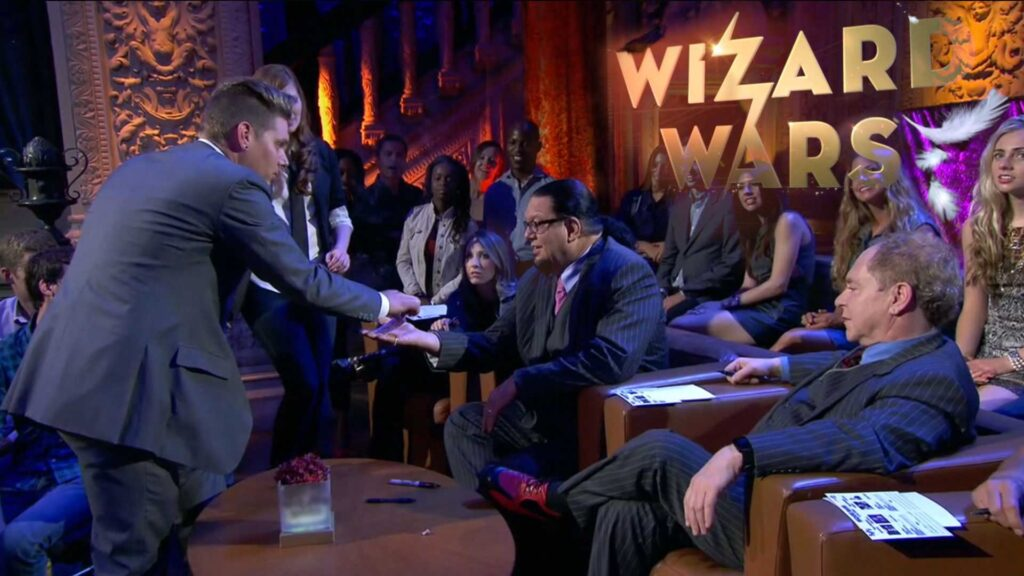 CORPORATE MAGICIAN CHRIS FUNK TV WORK ON WIZARD WARS