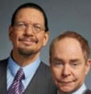 Penn & Teller Head shot