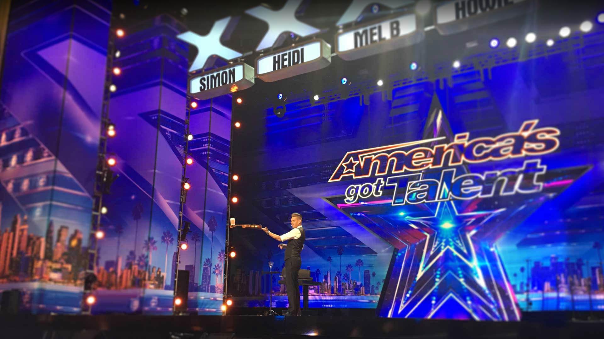 Corporate Magician Chris Funk America's Got Talent
